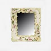 Рамка- Зеркало 35x29x5см. «Цветы»