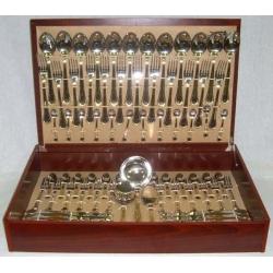 Набор столовых приборов «Falperra Gold» 75 предметов на 12 персон
