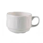 Чашка чайная «Торино вайт», фарфор, 212мл, белый