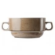 Бульонная чашка «Кантри Стайл», фарфор, 280мл, D=100,H=55мм, зелен.