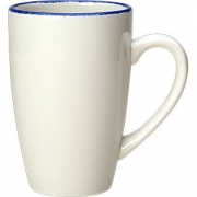 Кружка «Блю дэппл» фарфор; 285мл; белый, синий