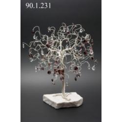 Сувенир в форме дерева, 90 подвесок, высота 30 см.