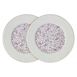 Набор из 2-х обеденных тарелок Стиль