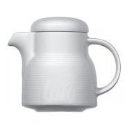 Кофейник «Карат», фарфор, 600мл, D=110/55,H=120,L=165мм, белый