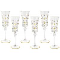 Набор: 6 бокалов для шампанского Флоренция