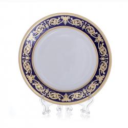 Набор тарелок «Александрия Кобальт/зол. « 27 см. 6 шт.