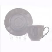 Чашка с блюдцем (140 мл. +14 см. ) «Офелия»