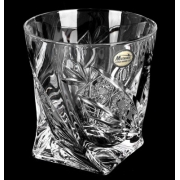 Набор стаканов 340мл.6шт «Хрусталь Квадро Комета»