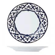 Тарелка мелкая «Восток», фарфор, D=19см, синий