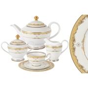 Чайный сервиз Корона 23 предмета на 6 персон