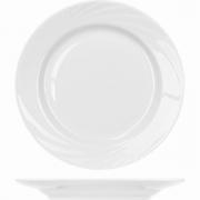 Тарелка мелкая «Голубка» D=20см; белый