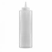 Емкость для соусов, пластик, 350мл, D=55,H=205мм, прозр.