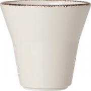 Салатник «Браун дэппл» D=11.5см; белый, коричнев.