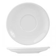 Блюдце «Кунстверк», фарфор, D=110,H=15мм, белый