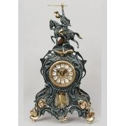Часы «Всадник» с маятником синий 41х25 см.