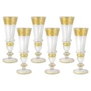 Набор: 6 бокалов для шампанского Империя