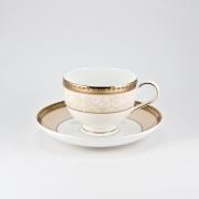 Набор 6 чайных пар 260мл «Палатин Голд»