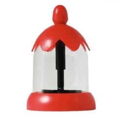 Декоратор для капуччино красный 300мл(4насадки)