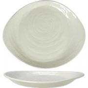 Тарелка пирожковая «Скейп» L=15.5см; белый