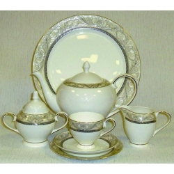 Чайный сервиз «Романтика» 21 предмет на 6 персон