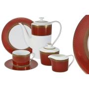 Чайный сервиз Кармен 21 предметов на 6 персон