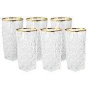 Набор: 6 стаканов для воды Энигма