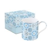 Кружка Изразцы (голубая) в подарочной упаковке