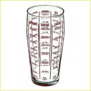 Мерный стакан 600мл стекло