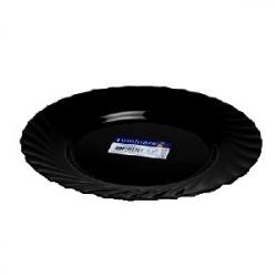 Тарелка «Трианон» d=24.5см черная