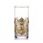 Набор стаканов «Хрусталь с золотом» 380 мл.