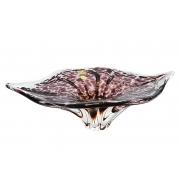 Салатник 38 см «тигровый» фиолет