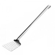 Шумовка-лопатка, сталь нерж., L=370,B=79мм, металлич.