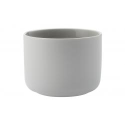 Cахарница-вазочка Оттенки (сераяя) без инд.упаковки