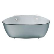 Органайзер/корзина для ванны SPLASH Koziol 95 х 275 х 130мм (прозрачный антрацит )