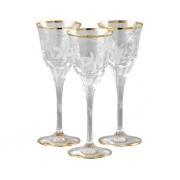 Рюмка для ликера/водки 6 шт Эдельвейс - золото
