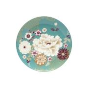 Тарелка Кимоно (бирюза) в подарочной упаковке