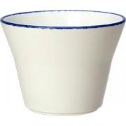 Салатник «Блю дэппл» D=11.5см; белый, синий