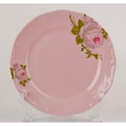Набор тарелок 19 см. 6 шт. «Алвин розовый»