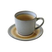 Чашка с блюдцем Origin (бежевая) без инд.упаковки