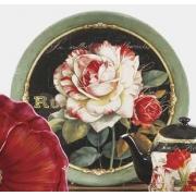 Блюдо круглое 33 см «Цветущий сад»