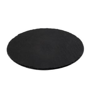 Блюдо кругл. для подачи d=38см натур. сланец (APS)