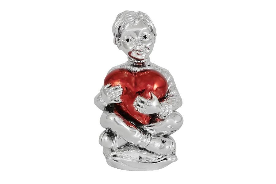 Статуэтка Мальчик с красным сердцем (Гамма)