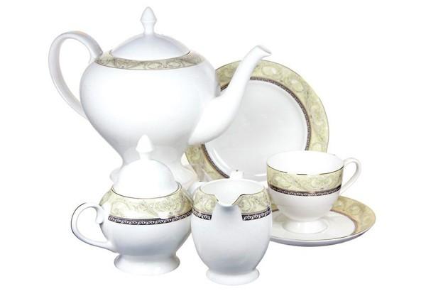 Чайный сервиз Романтика 21 предмет на 6 персон (Emerald)
