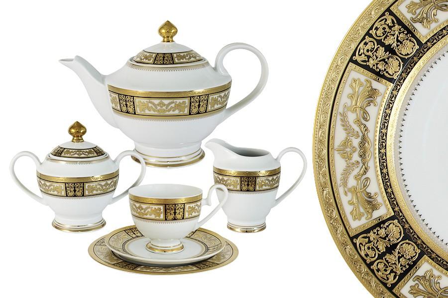 Чайный сервиз Елизавета 23 предмета на 6 персон (Midori)