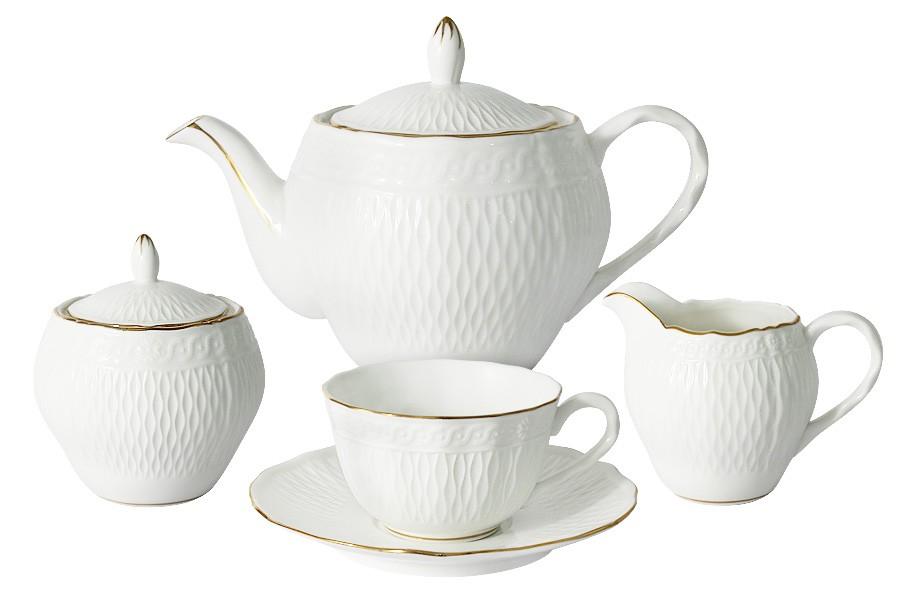 Чайный сервиз из 15 предметов на 6 персон Бьянка (Colombo)