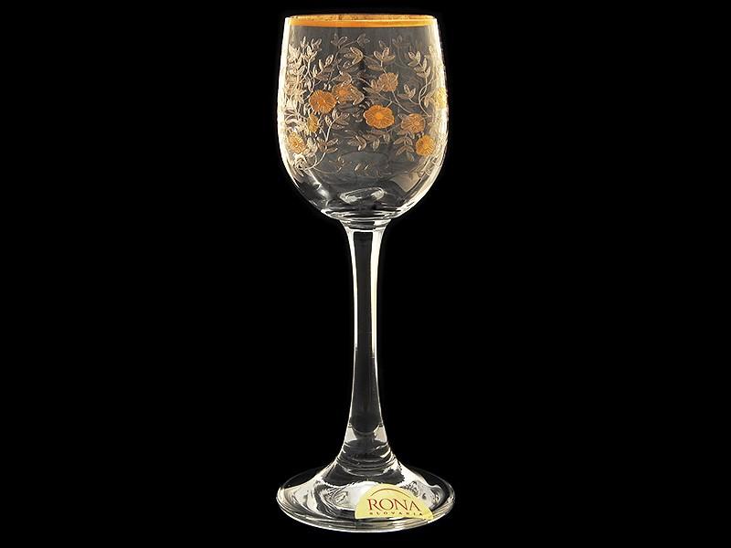Рюмка для ликера Эсприт, Золотые цветы (Rona)