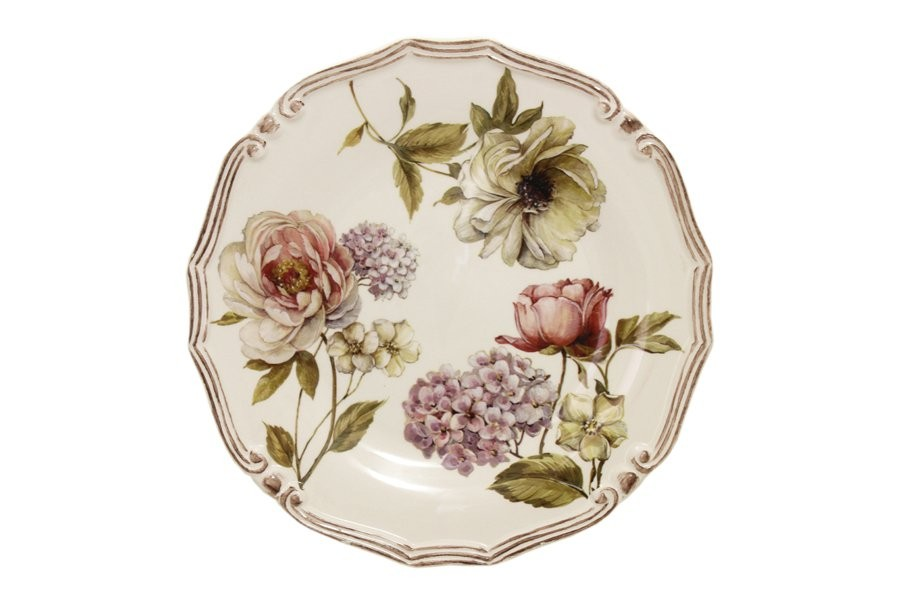 Блюдо круглое Сады Флоренции (LCS)