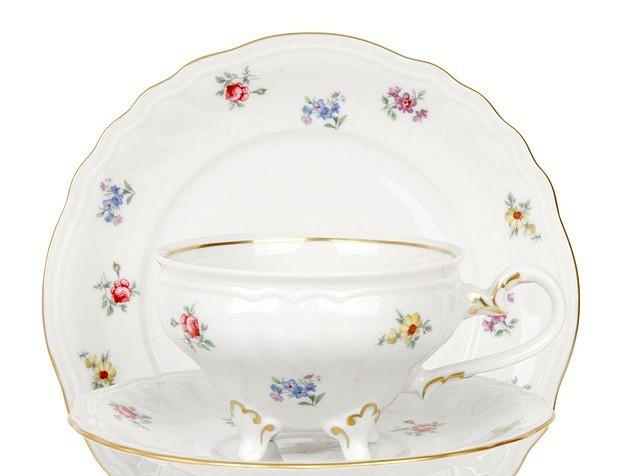 Набор чайный Шато 210 мл. на 6 перс. 12 пред. «Полевой цветок» (Weimar Porzellan)