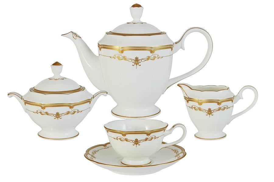 Чайный сервиз из 17 предметов на 6 персон Ожидание (Narumi)