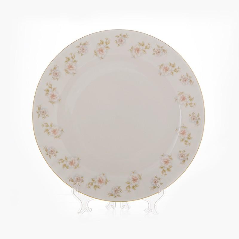 Блюдо «Цветы Рельеф золото» 32 см (Bavarian Porcelain)